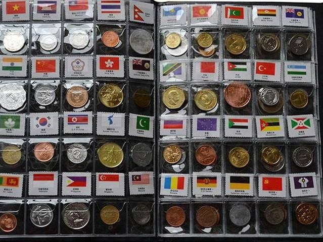外国钱币 120国世界硬币大全套 生日礼物 创意礼品 送小孩涨知识……,人民币收藏,中国钱币收藏网