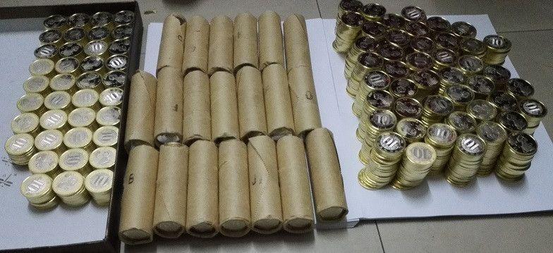 整卷40枚 原卷 2016年 猴币 纪念币 40 枚,人民币收藏,中国钱币收藏网,纸币收藏网